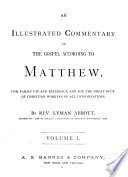 An Illustrated Commentary On The Gospel According To Matthew