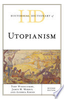 Read Online Historical Dictionary of Utopianism Epub