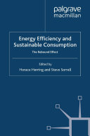 Energy Efficiency and Sustainable Consumption [Pdf/ePub] eBook