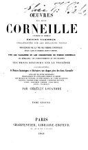 Oeuvres Des Deux Corneille (Pierre Et Thomas)