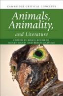 link to Animals, animality, and literature in the TCC library catalog