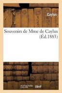 Souvenirs de Mme de Caylus