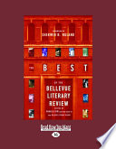 The Best Of The Bellevue Literary Review Large Print 16pt  Book