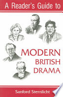 A Reader S Guide To Modern British Drama