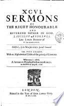 XCVI  Sermons     The fifth edition  etc
