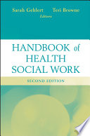 Handbook Of Health Social Work Book