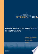 Behaviour of Steel Structures in Seismic Areas Book