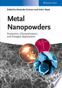 Metal Nanopowders