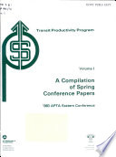 A compilation of spring conference papers Book