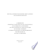 Spectral Methods for Isometric Shape Matching and Symmetry Detection Book
