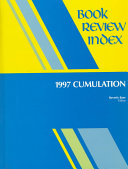 Book Review Index 1997 Cumulation