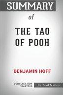 Summary of The Tao of Pooh by Benjamin Hoff