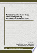 Nanoscience  Nanotechnology  and Nanoengineering  Fundamentals and Applications