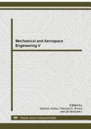 Pdf Mechanical and Aerospace Engineering V