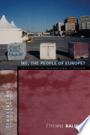 We, the People of Europe?