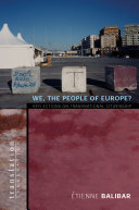 We  the People of Europe