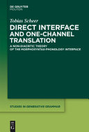 Direct Interface and One-Channel Translation [Pdf/ePub] eBook