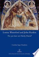 Louisa Waterford and John Ruskin Book PDF