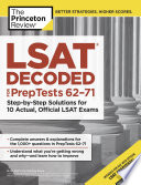 LSAT Decoded (PrepTests 62-71)