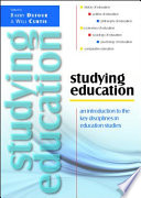 Ebook Studying Education An Introduction To The Key Disciplines In Education Studies