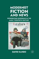 Pdf Modernist Fiction and News