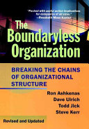 Cover of The Boundaryless Organization