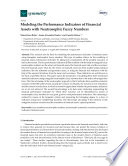 Modeling the Performance Indicators of Financial Assets with Neutrosophic Fuzzy Numbers