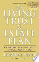 Your Living Trust and Estate Plan 2012-2013