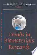 Trends in Biomaterials Research