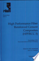 PRO 6  3rd International RILEM Workshop On High Performance Fiber Reinforced Cement Composites  HPFRCC 3