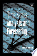 Cover of Introduction to Time Series Analysis and Forecasting