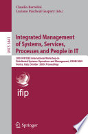Integrated Management of Systems  Services  Processes and People in IT