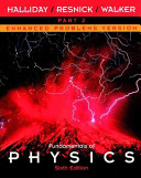 Cover of Fundamentals of Physics, Part 2, Chapters 13 - 21 , Enhanced Problems Version