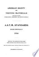 ASTM Standards 1916