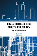 Pdf Human Rights, Digital Society and the Law
