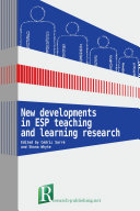 New developments in ESP teaching and learning research