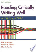 Reading Critically, Writing Well 12e & Documenting Sources in APA Style: 2020 Update [With EBook]