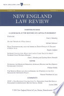 New England Law Review Volume 48 Number 4 Summer 2014