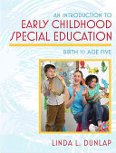 An Introduction To Early Childhood Special Education Book PDF