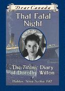 Dear Canada: That Fatal Night [Pdf/ePub] eBook