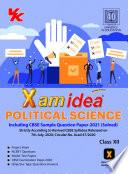 Xam Idea Political Science Class 12 CBSE  2020 21  Examination  English Edition