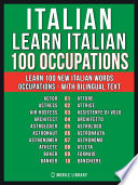 Italian   Learn Italian   100 Occupations