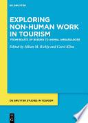 Exploring non human work in tourism