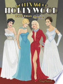 Golden Age of Hollywood Paper Dolls with Glitter
