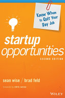 Pdf Startup Opportunities