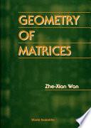 Geometry of Matrices