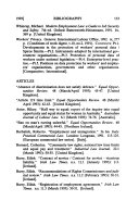 Comparative Labor Law Journal
