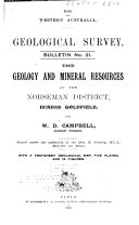 The Geology and Mineral Resources of the Norseman District  Dundas Goldfield