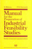 Manual for the Preparation of Industrial Feasibility Studies