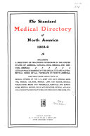 The Standard Medical Directory of North America